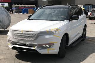 网通社北京车展探馆:捷途X70 Coupe曝光