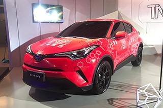 丰田2款TNGA架构全新SUV 奕泽/C-HR正式亮相