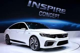 东风本田全新概念车亮相 新车下半年上市