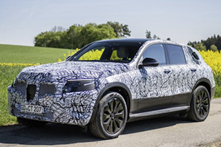 奔驰首款全新电动SUV明年发布 5秒内就可破百