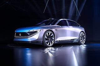 设计超前/配四激光雷达 拜腾轿车目前有多概念?