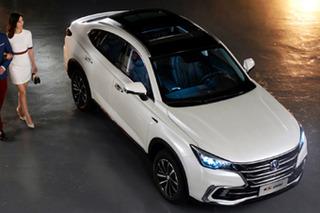 """7座版国产""""宝马X6""""?长安CS85轿跑SUV官图发布"""
