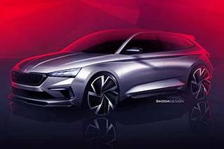斯柯达VISION RS设计草图曝光 巴黎车展全球首发