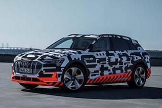 奥迪首款纯电动SUV明日亮相 续航里程超400公里