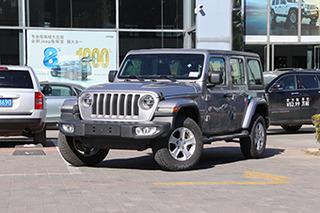 外观提升内饰换新 实拍全新一代Jeep牧马人
