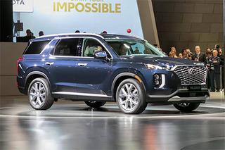 现代全新中大型SUV亮相 采用8座布局/车长近5米