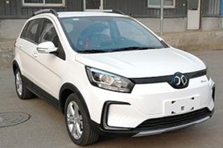 北汽新能源将推新SUV 定名EC5/最大续航500公里