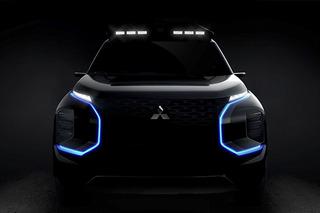 三菱全新概念SUV预告图发布 将日内瓦车展亮相