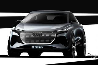 曝奥迪Q4 e-tron概念车设计图 3月亮相/明年量产