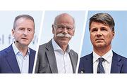 奔驰/宝马/大众将携手 未来全力发展电动汽车