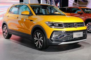 大众首款小型SUV出世  上海车展实拍大众T-Cross