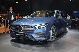 首款国产AMG来了 上海车展实拍奔驰AMG A 35L