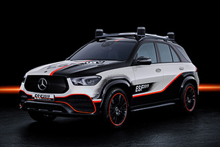 Mercedes-Benz unveils GLE-based experimental safety vehicle