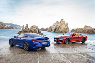 BMW unwraps new M8 Coupe and Convertible