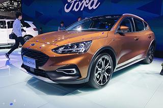 浓浓的跨界风格 国产福克斯Active重庆车展首发