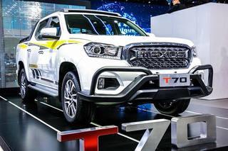 国内首款柴油国6皮卡 上汽大通T70售11.98万元起