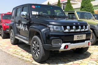 新款北京BJ40售16.49万起