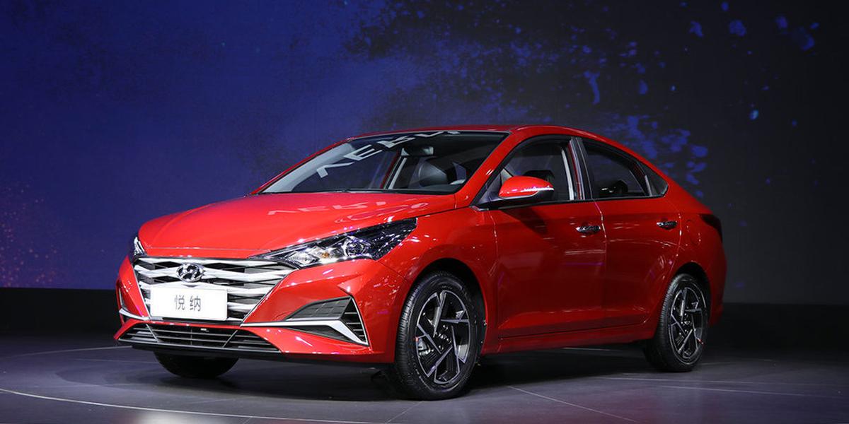 现代新一代悦纳将于10月底上市 搭载1.4L发动机
