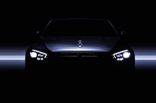 奔馳新款E級預告圖曝光 將于日內瓦車展正式亮相
