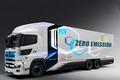 续航约600km 丰田/日野共同开发重型氢燃卡车