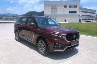 全新中型SUV配1.8T动力 南北DX9反映图曝光