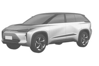 前途或将国产 丰田两款纯电动SUV自主经营权图曝光