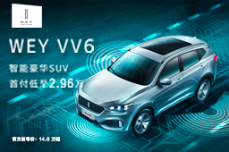 WEY VV6智能豪华SUV
