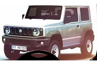 铃木全新吉姆尼酷似奔驰G 明年正式投产