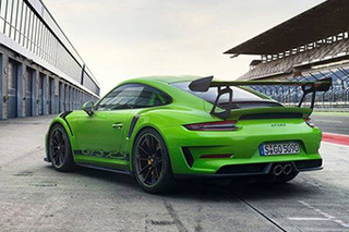 保时捷911 GT3 RS三月亮相 外观更激进