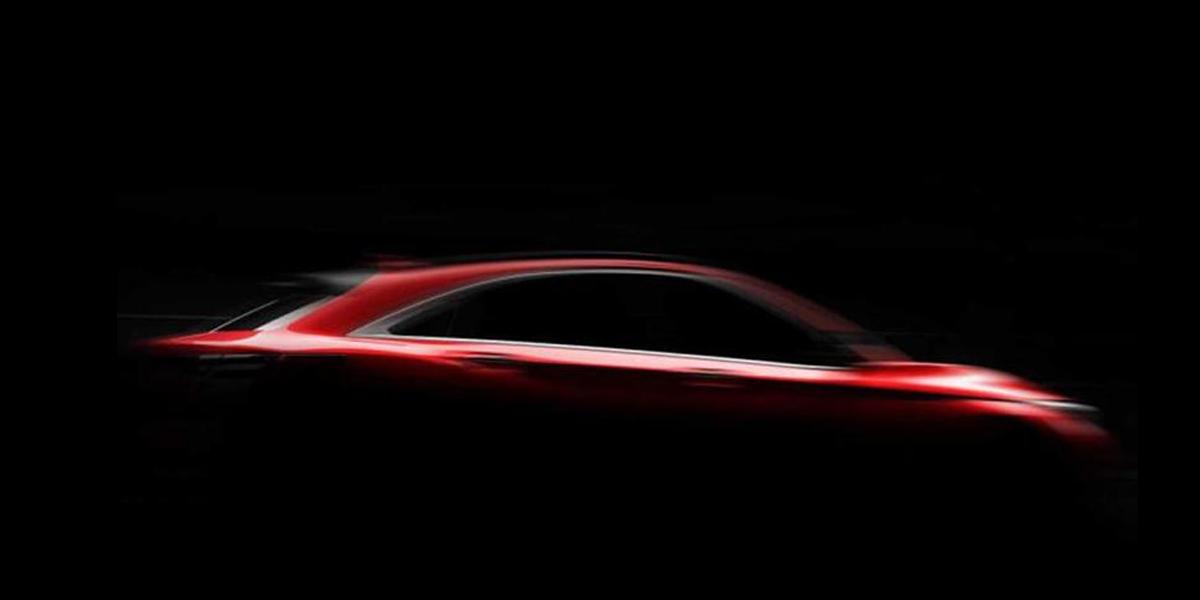 英菲尼迪QX55將于11月17日發布 定位中型轎跑SUV